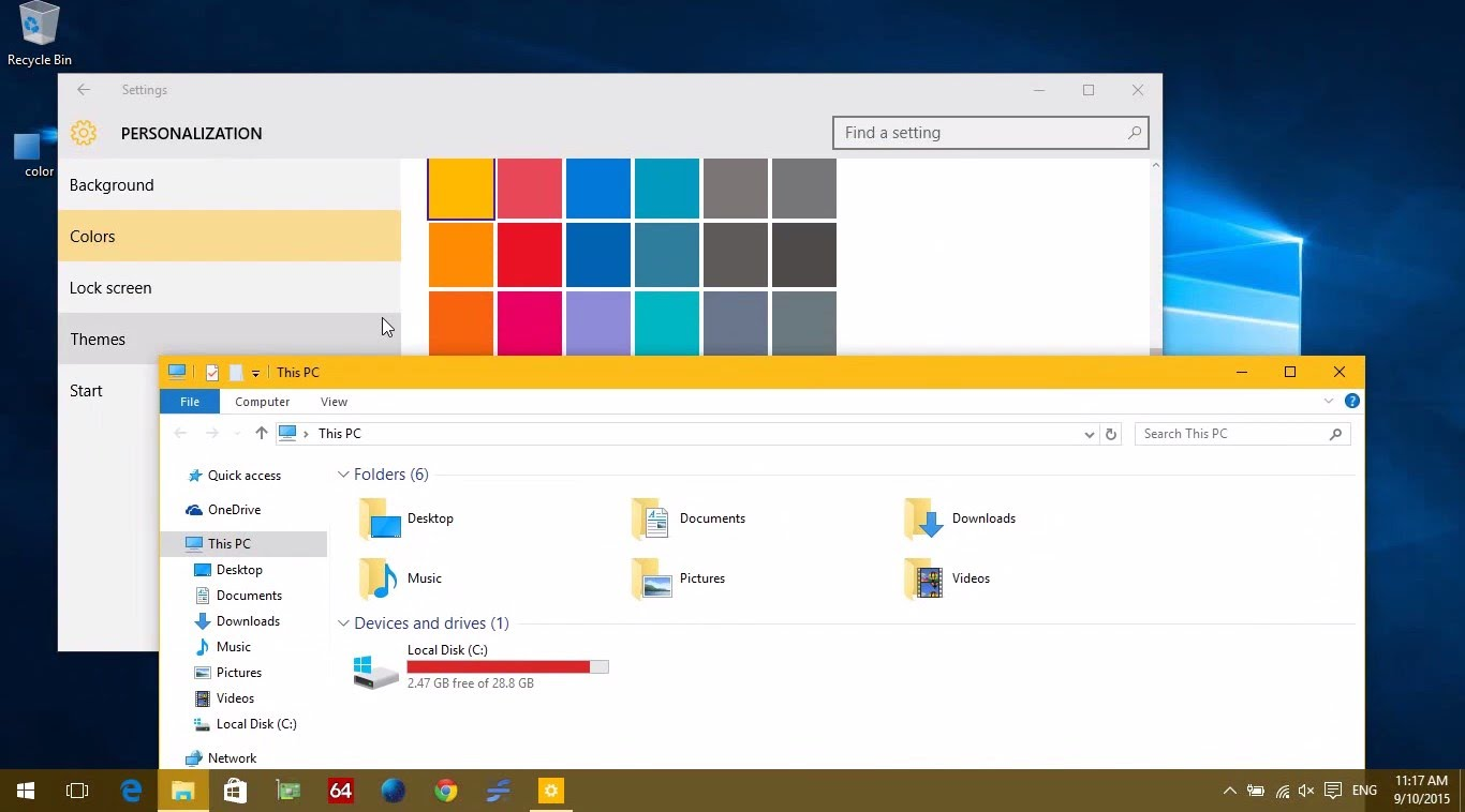 Easy Steps to Change the Title Bar Color in Windows 10